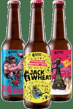 Coffret Bouteilles de bières artisanales Brasserie 3ienchs