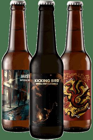 Coffret Nouveautés bières artisanales Brasserie Hoppy Road