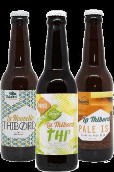 Coffret de bières artisanales Brasserie Thibord Find A Bottle
