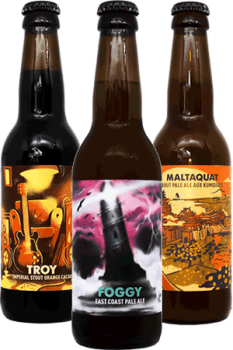 Coffret Découverte bières artisanales Brasserie Hoppy Road