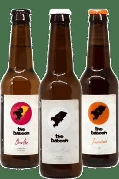 Coffret de bières artisanales brasserie The Baboon