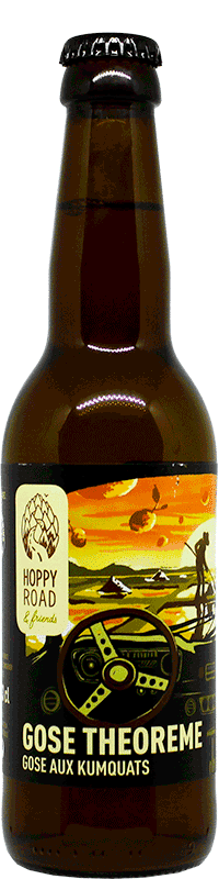 BOUTEILLE GOSE THEOREME BRASSERIE HOPPY ROAD