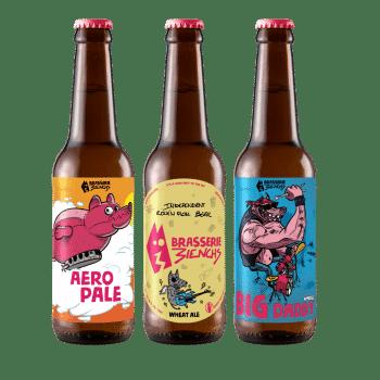 Gamme de bières artisanales 3ienchs