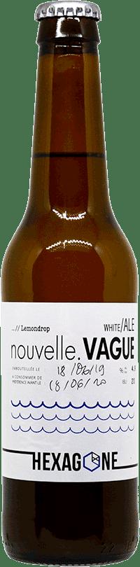 Bouteille de bière Nouvelle Vague brasserie Hexagone Ales