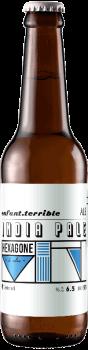 Bouteille de bière enfant terrible india pale ale ipa brasserie Hexagone Ales