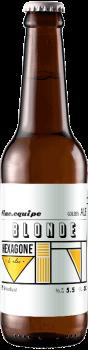 Bouteille de bière Fine équipe golden ale brasserie Hexagone Ales