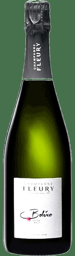 Champagne boléro de la maison Fleury