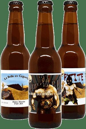 Coffret de bières artisanales Brasserie des Garrigues Find A Bottle