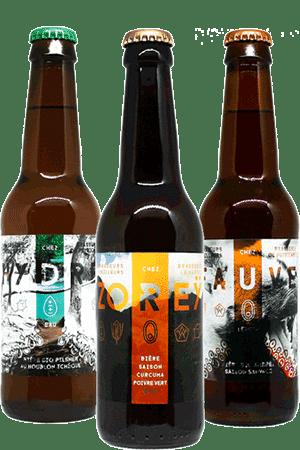Coffret de bières artisanales Brasseurs Cueilleurs Find A Bottle