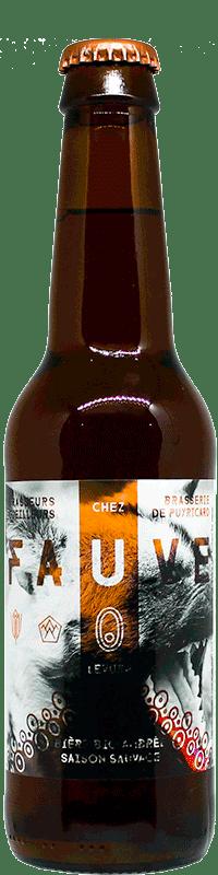 BIERE FAUVE DES BRASSEURS CUEILLEURS