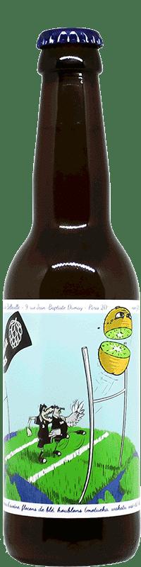 Bouteille de bière artisanale Drop Kick Kiwi Brasserie 3ienchs