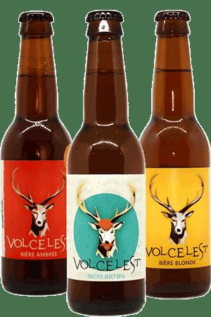 Coffret de bières artisanales Brasserie Volcelest Find A Bottle