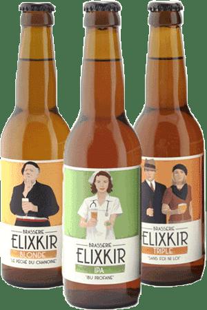 Coffret de bières artisanales Elixkir