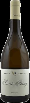 Bouteille de vins Saint Péray Gémini du Domaine Julien Cecillon