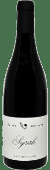 Bouteille de vin Syrah Les Graviers du Domaine Julien Cecillon