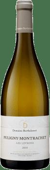 Bouteille de vins Puligny-Montrachet Les Levrons du domaine Berthelemot