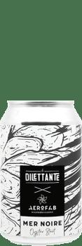 Canette de bière Mer Noire Oyster Stout brasserie aerofab
