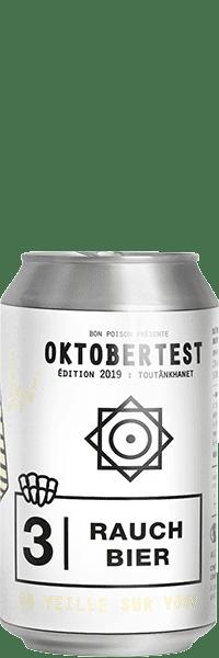 OKTOBER TEST BON POISON 2019 RAUCH BIER