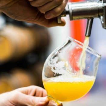 Bière IPA à la pression