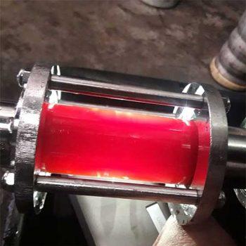 transfert de bière à la brasserie des garrigues