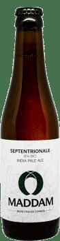 Bouteille de bière India Pale Ale Septentrionale Brasserie Maddam
