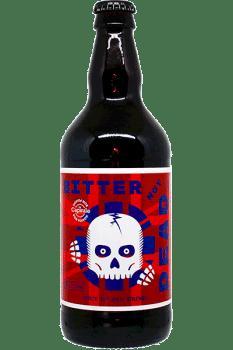 Bouteille de bière Bitter de la brasserie Bon Poison
