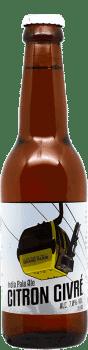Citron Givré IPA Bouteille de bière artisanale Brasserie du Grand Paris