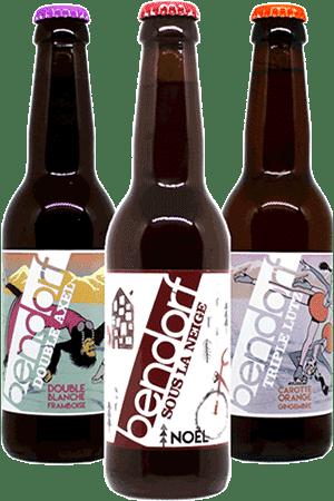 Coffret nouveautés de bières artisanales Brasserie Bendorf Find A Bottle