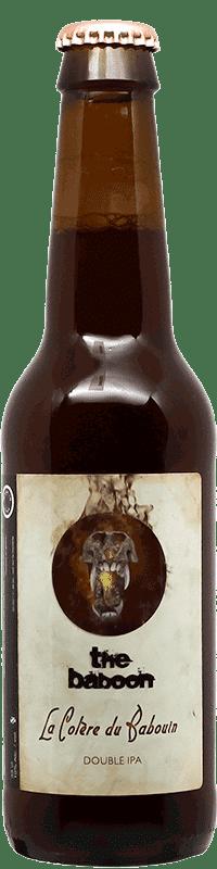 La colère du Babouin Bouteille de bière artisanale Brasserie The Baboon