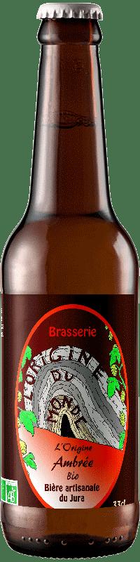 Bière Amber Ale brasserie L'origine du Monde