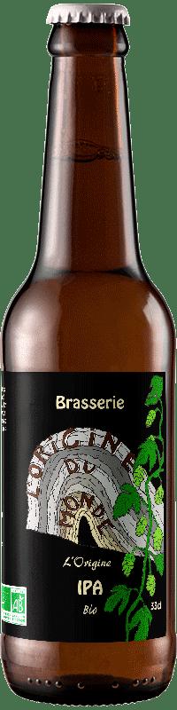 Bière L'origine IPA brasserie L'origine du Monde