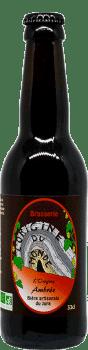 Bière ambrée de la brasserie L'origine du Monde