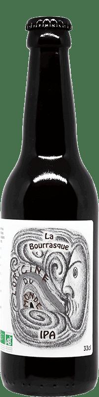 Bière Bourrasque IPA de la brasserie L'origine du Monde