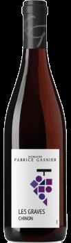 Bouteille de vin de Chinon les Graves du Domaine Fabrice Gasnier