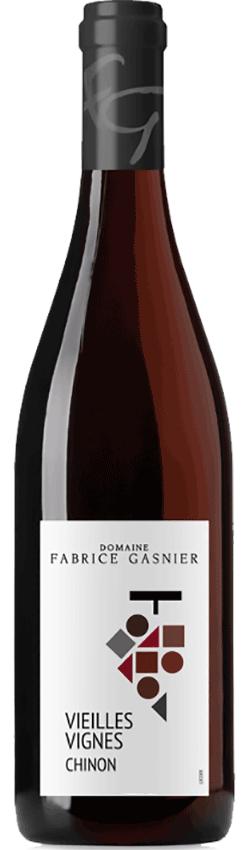 Bouteille de Chinon Vieilles Vignes du Domaine Fabrice Gasnier
