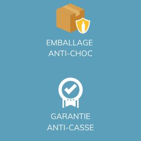 Emballage Anti-Choc et Garantie Anti-Casse