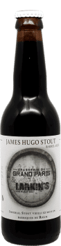 James Hugo Stout Bouteille de bière artisanale Brasserie du Grand Paris