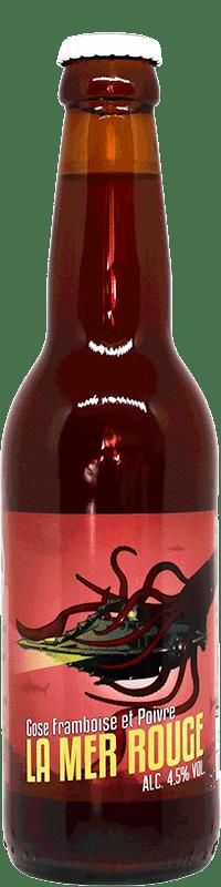 Gose La Mer Rouge Bouteille de bière artisanale Brasserie du Grand Paris