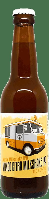 Mango Citra Milkshake IPA Bouteille de bière artisanale Brasserie du Grand Paris