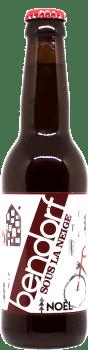 Brasserie Bendorf Sous la Neige Bière Noel Find A Bottle