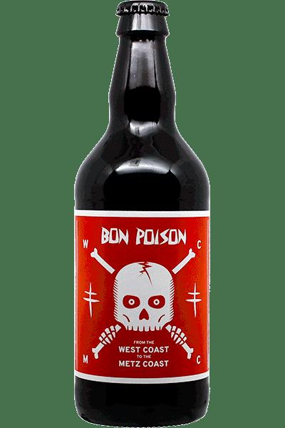 Bouteille de bière West Coast IPA de la brasserie Bon Poison