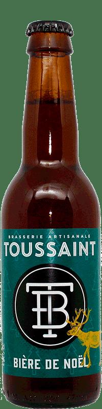 bière de Noël brasserie Toussaint