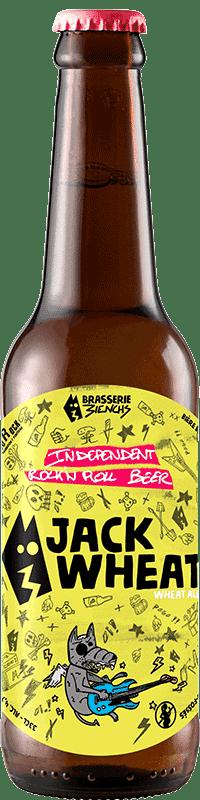 Bouteille de bière artisanale Jack Wheat Brasserie 3ienchs