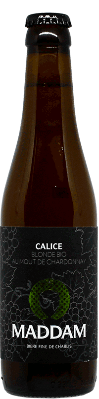Bouteille de bière Ale Calice Brasserie Maddam
