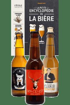 Coffret de bières artisanales et livre de dégustation