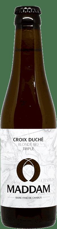 Bouteille de bière Triple Croix Duché Brasserie Maddam