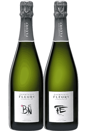 Coffret de 2 bouteilles de Champagne