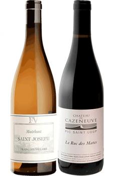 Coffret Vins de 2 bouteilles Prêt à offrir Amateur