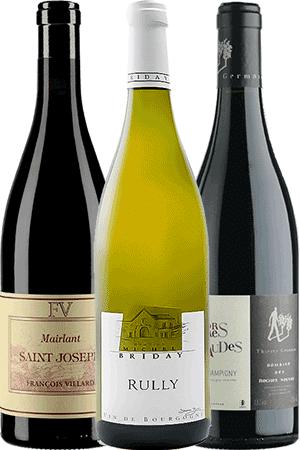 Coffret Vins de 3 bouteilles Prêt à offrir Amateur