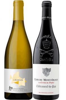 Coffret de vins Connaisseur 2 Bouteilles